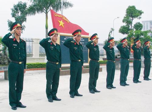Xứng danh Quân đội anh hùng
